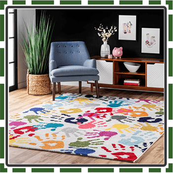 Best Colorful Kids Rugs