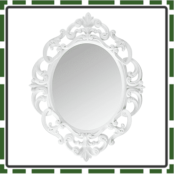Oval Best Makeup Mirror for Girls