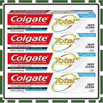 Best Total Anti Cavity Toothpaste