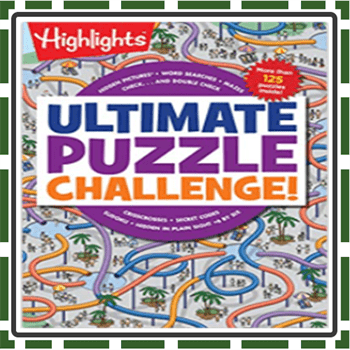 Best Ultimate Puzzle Books for Kids