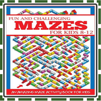 Best Mazes Puzzle Books for Kids