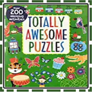 Best Cute Puzzle Books for Kids