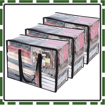 Best Clear Clothes Storage Bag